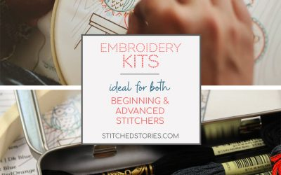 Embroidery Kits Are Ideal for Both Beginning and Advanced Stitchers