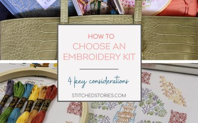 How to Choose an Embroidery Kit: 4 Key Considerations
