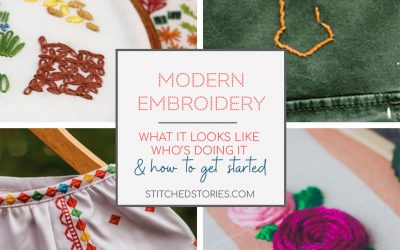 Modern Embroidery: what it looks like, who's doing it, and how to get started