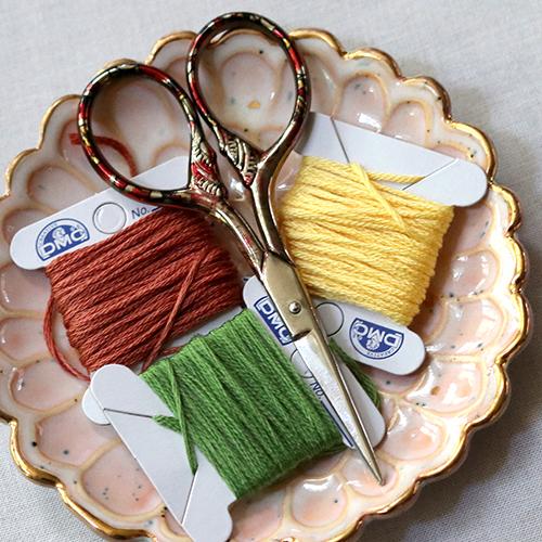 Embroidery Kit Camping Scene Sampler Hoop
